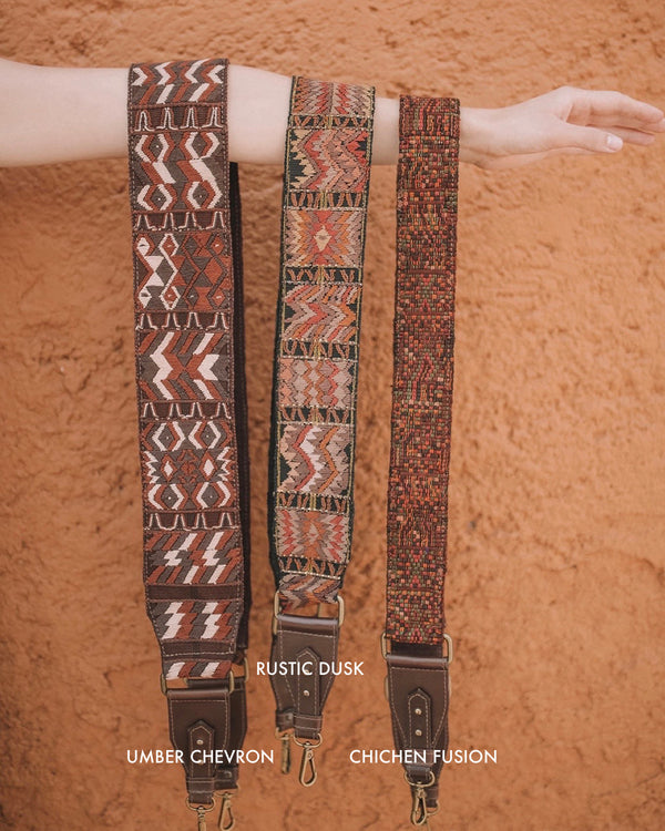 Story of Source Faja Shoulder Straps - Geometric Darks - Variants