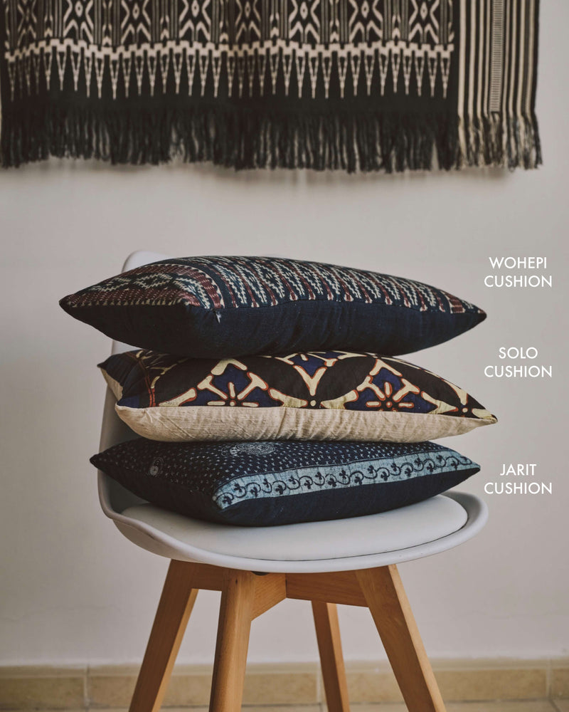Story of Source Trio of cushions from Indonesia