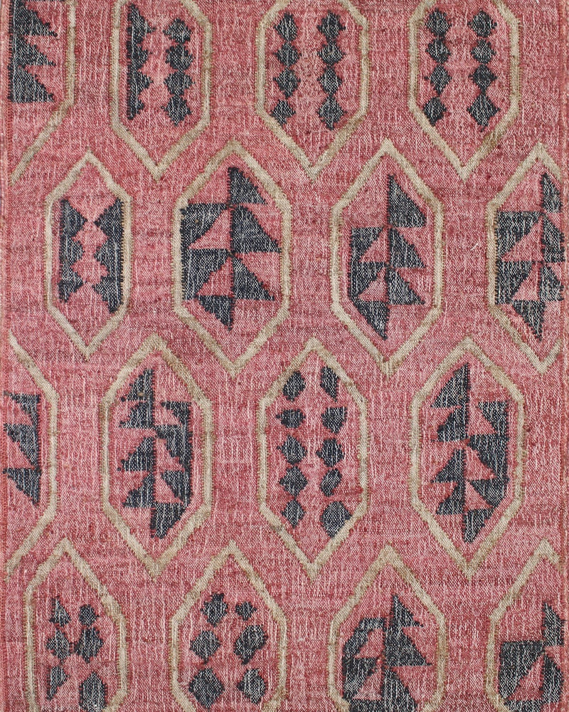 Story of Source Lodge Rug Pattern Closeup