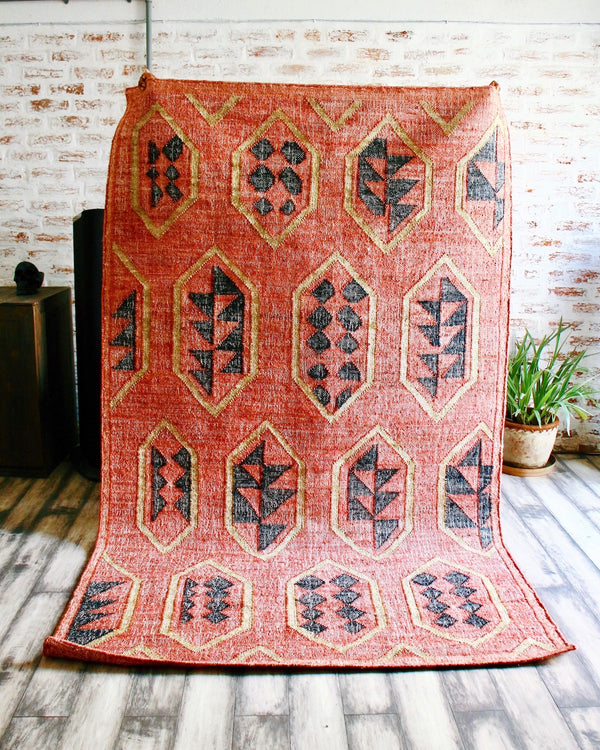 Story of Source Handwoven Lodge Rug