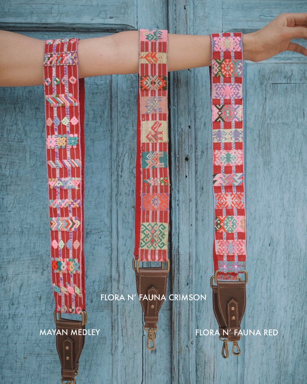 Story of Source Shoulder Strap - Flora Medley - Variants