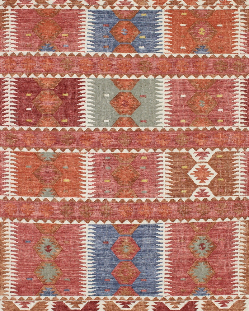 Story of Source Tupil Rug Pattern Closeup