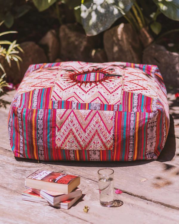 Xela Floor Pouf - Chichi Rose