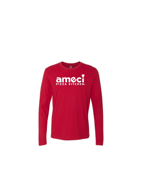 Ameci Red Long Sleeve T-Shirt