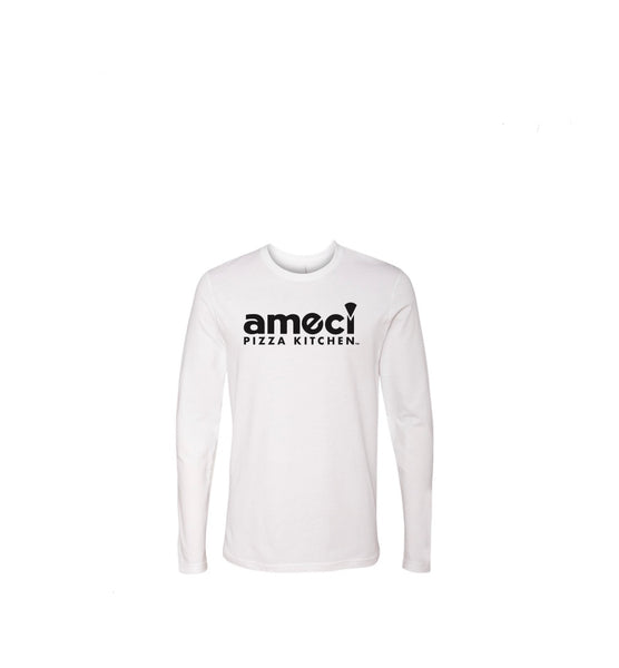 Ameci White Long Sleeve T-Shirt