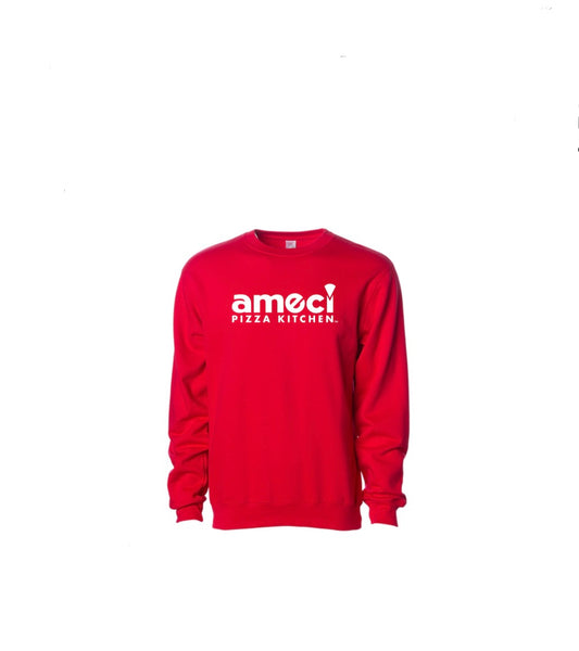Ameci Red Crewneck