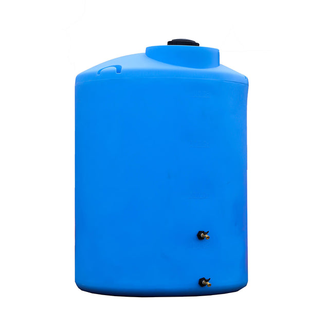 500 gallon Emergency Water Storage Tank (Blue) - Sure Water