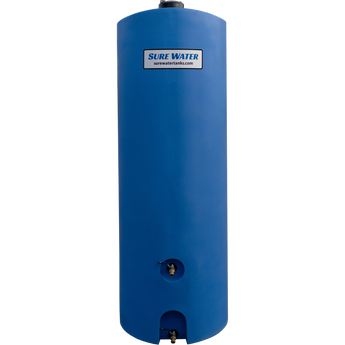 260 gallon Emergency Water Storage Tank (Blue) + Accessories - Sure Water