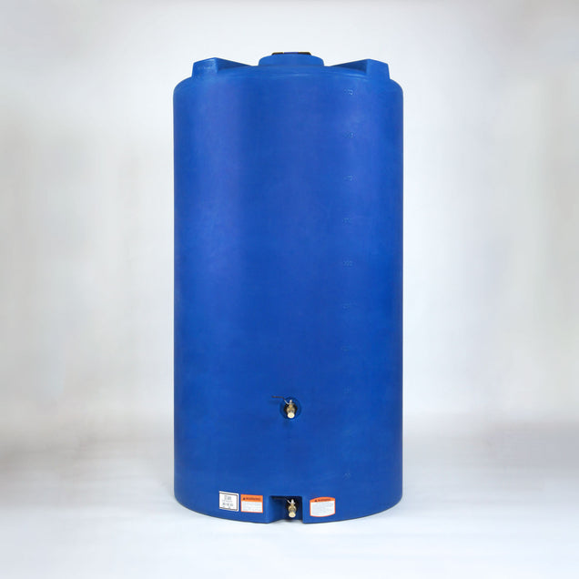 525 gallon Emergency Water Storage Tank (Blue) + Accessories - Sure Water