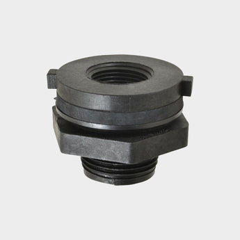 Parts: Bulkhead Fittings 2-pack - Sure Water