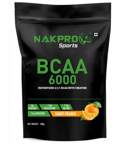 NAKPRO BCAA - Tangy Orange - 200g