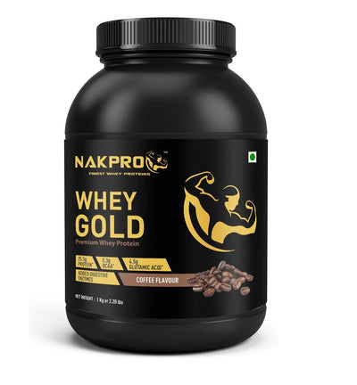 Nakpro Whey Gold Whey Protein Concentrate - Coffee