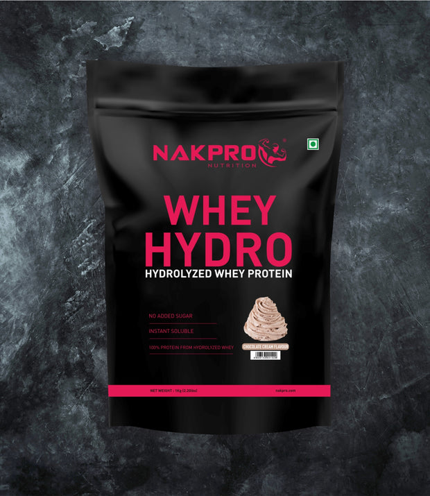 NAKPRO WHEY HYDRO CREAM CHOCOLATE 1KG