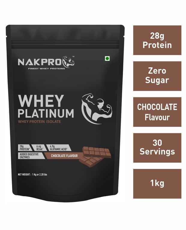 Nakpro Whey Platinum Whey Protein Isolate  -