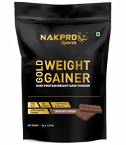 Nakpro Sports Gold Weight Gainer  - Chocolate