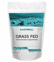 NAKPRO Grass Fed Whey Protein Concentrate -