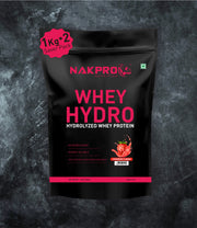 NAKPRO WHEY HYDRO STRAWBERRY 2KG