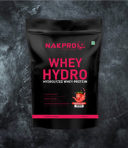 NAKPRO WHEY HYDRO STRAWBERRY 1KG