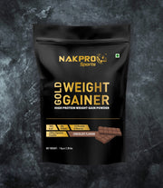 NAKPRO Nutrition Gold Weight Gainer Chocolate 1Kg