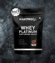 NAKPRO Nutrition whey protein isolate 2kg chocolate