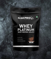 NAKPRO Nutrition whey protein isolate 1kg chocolate