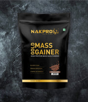 NAKPRO Nutrition Gold Mass Gainer Chocolate 1Kg