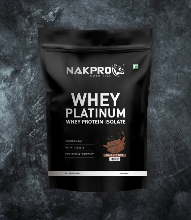 NAKPRO Nutrition whey protein isolate 500 g chocolate