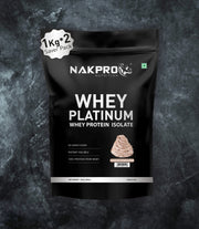 NAKPRO Nutrition whey protein isolate 2kg cream chocolate