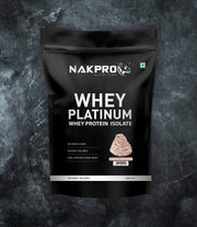 NAKPRO Nutrition whey protein isolate 1kg cream chocolate