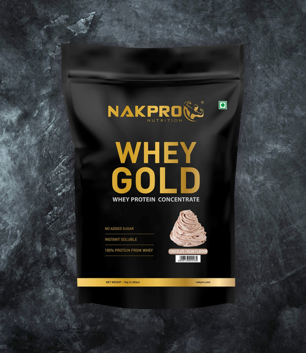 NAKPRO WHEY GOLD CREAM CHOCOLATE 1KG