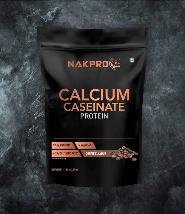 NAKPRO CALCIUM CASEINATE PROTEIN COFFEE 1KG