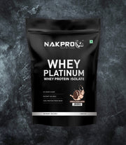 NAKPRO Nutrition whey protein isolate 1kg cookies & cream