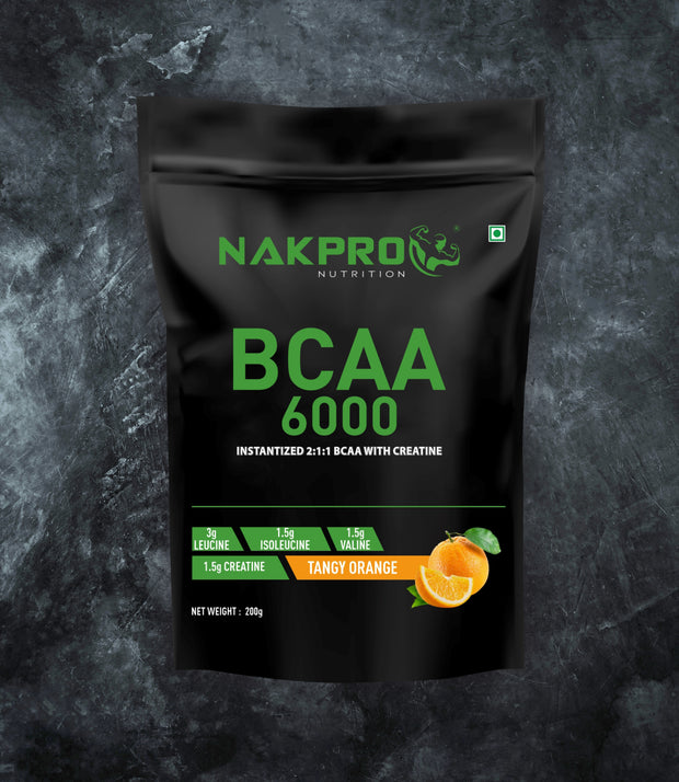 Tangy orange flavored amino acid BCAA 6000 1kg pack