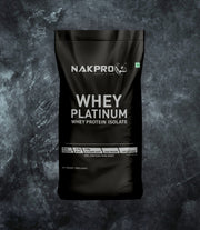 NAKPRO Nutrition whey isolate protein 20kg unflavored