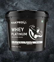 NAKPRO Nutrition whey isolate protein 5kg unflavored