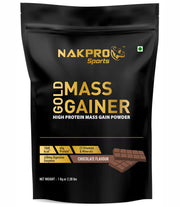 Nakpro Sports Gold Mass Gainer - Chocolate