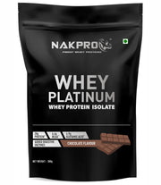 Nakpro Whey Platinum Whey Protein Isolate - Chocolate