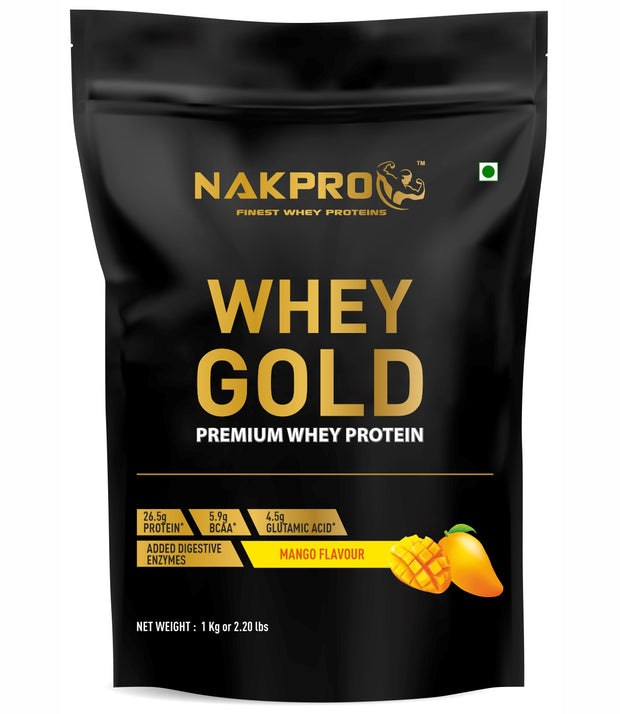 Nakpro Whey Gold Whey Protein Concentrate -Mango