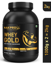 Nakpro Whey Gold Whey Protein Concentrate - Unflavored