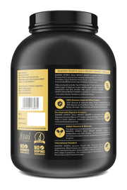 Nakpro Sports Gold Weight Gainer Protein Powder Supplement with Digestive Enzymes and Vitamin & Minerals - Vanilla