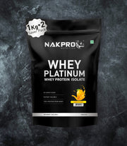NAKPRO Nutrition whey isolate protein 2kg mango