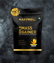 NAKPRO Nutrition Gold Mass Gainer Mango 3kg
