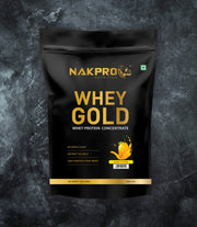 NAKPRO Nutrition whey protein concentrate whey protein powder 1 Kg mango