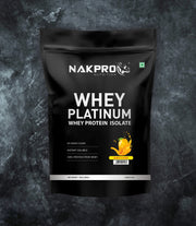 NAKPRO Nutrition whey protein isolate 1kg mango