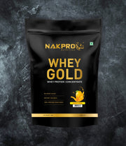 NAKPRO Nutrition whey protein concentrate whey protein powder 2 Kg mango