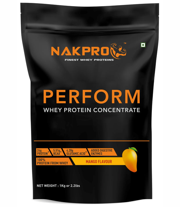 NAKPRO Perform Whey Protein Concentrate -