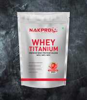 NAKPRO TITANIUM TRI BLEND STRAWBERRY 1KG