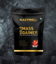 NAKPRO Nutrition Gold Mass Gainer Strawberry 1Kg