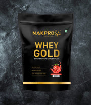 NAKPRO Nutrition whey protein concentrate whey protein powder 2 Kg strawberry