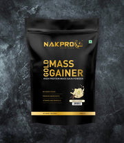 NAKPRO Nutrition Gold Mass Gainer Vanilla 1Kg